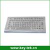 IP65 desk top kiosk metal industrial keyboards