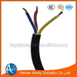 3 G 0.75mm2 1.0mm2 rubber insulated flexible cabe