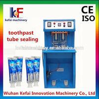 tube sealer manufacture Pedaled manual tube plastic sealing machine price