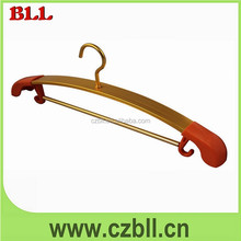 best selling aluminum alloy metal hanger for fabric samples