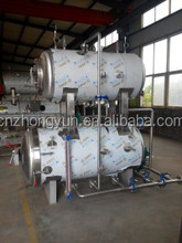 steam or water used single pot sterilizing canned food retort pot