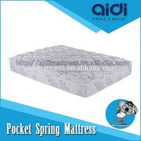 Polyester Carbon Fabric Pocket Spring Memory Foam Queen Futon Mattress AC-1213
