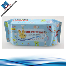viscose / polyester material baby wipes by spunlace nonwoven