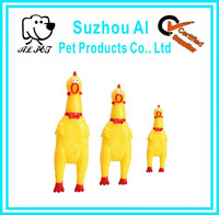 Funny Eco-friendly Plastic Squeaky Chicken Dog Toy