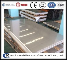 top quality of hairline finish 304L stainless steel plate with stock price