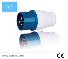China CEE-013-023 Low Voltage ac 220v 16a 32a Industrial Plugs socket three-phase industrial plug