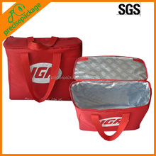 Insulated Aluminum Foil Lined Cooler Bag with Handle