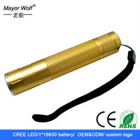 outdoor products hiking/ hunting /camping led flashlight