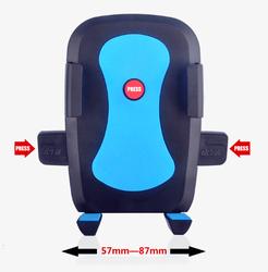 Anti-slip 360 degree ratating magnetic funny cell phone holder for desk