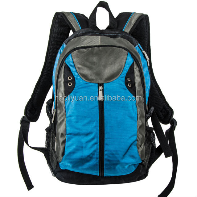 New retail polyester backpack school bag