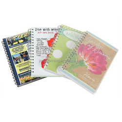 Yo Binding Colourful Notebook printing