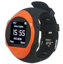 China Manufacturer Touch Screen GSM Smart Phone Watch GPS Positioning And SOS