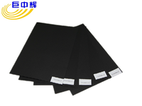 new product 110g black art paper for cardboard jewelry box