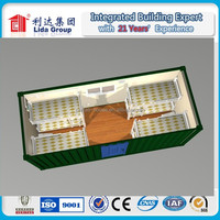 CE/SGS/ISO 20FT living container hotel/ hotel container