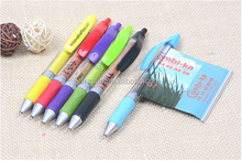 Customize advertising banner ball pen promotional pen with pull out paper promotion pen with roll out paper