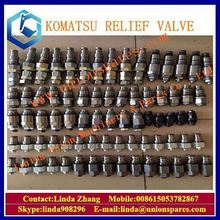 High quality excavator small hydraulic control safety valve 6D95 6D102 engine PC200-6 main relief valve for komatsu