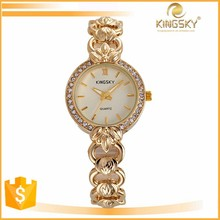 wholesale western import small watches ladies winner gold