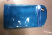 Zipper pvc waterproof phone case waterproof phone bag