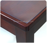 pvc heat transfer film laminated transfer table cloth crystal table cover