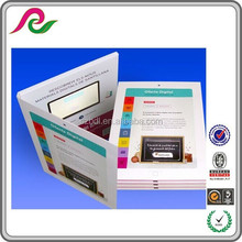 Custom design promotion 2.4 Inch TFT Color LCD Screen Video Greeting Card