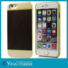 For wooden iphone 6 case 2015,metal wooden case for Apple iPhone 6