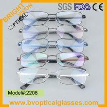 2015 fashion New model metal optical eyewear Danyang Manufacturer(2208)