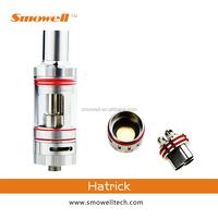 100% original triple coil smowell hatrick vaporizer atomizer for titan mod vape &titans box mod