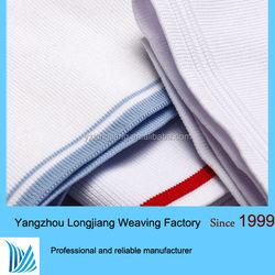 low price polyester knit fabric collar rib ,1x1rib,2x2rib