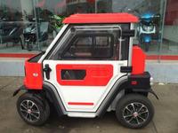 Electric Vehicle 4 wheelers 2 door 2 seats 72V3.5KW
