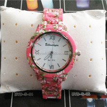 YX6007 China New Style Plastic Vogue Fashion Lady Watch/Watch Ladies