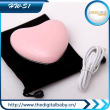 vendita calda nel mondo bella portatile 4500 mah mano scaldino elettrico