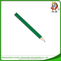 Hot -sale green body golf pencil new custom standard size