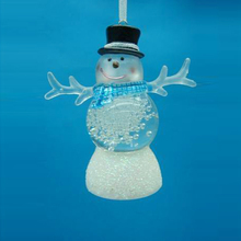 christmas gifts christmas ornament lovely acrylic snowman