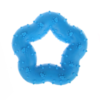 Free Samples Hot Selling Products Nature Toys New TPR Items For Sale in Bulk Hollow Rubber Dog Toy