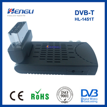 low price mini scart set top box decoder MPEG4 H.264 dvb-t digital terrestrial receiver