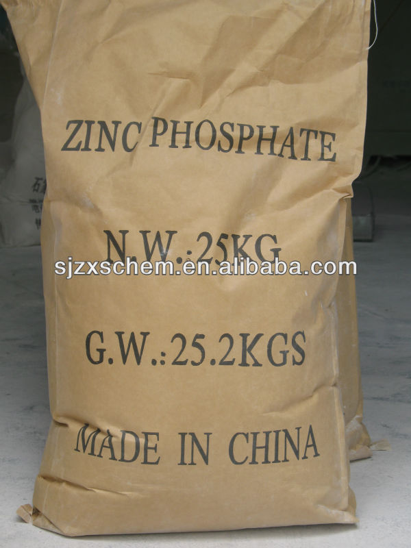 Высокий уровень чистоты цинка фосфат