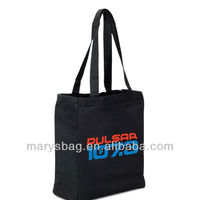 Color Cotton Canvas Tote Bag W/ Full Gusset