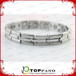 Heart Love Design Stainless Steel Bracelet/ Power Energy Balances Bracelet