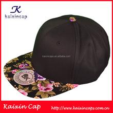 custom simple plain men black cheap hats men cap snapback cap wholesale cap