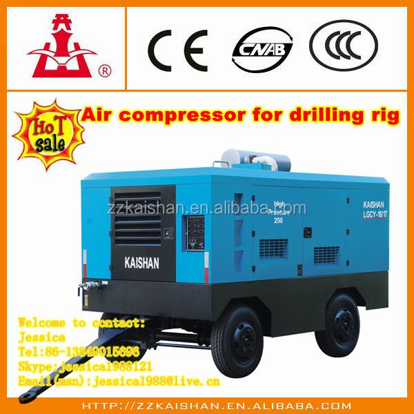 Kaishan LGCY18-17 a Diesel Portátil Parafuso compressor de ar venda