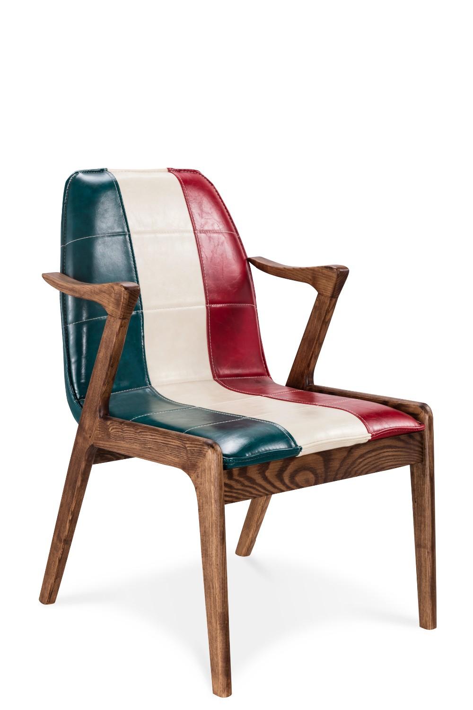 현대 편안한 가죽 카페 의자 식당 의자 나무 의자 디자인-식당 ...