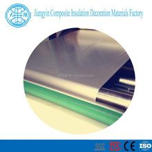 110g/m2 weight fabric cotaed aluminum foil full of quality
