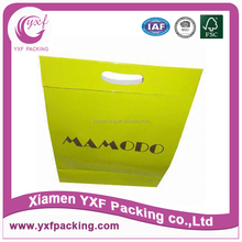 Color printing and lamination paper bags