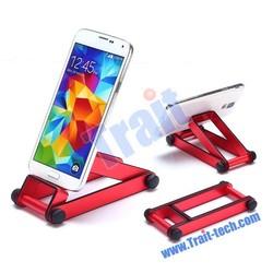 shop stand aluminum phone holder, portable mobile stand holder, Desk Holder