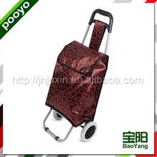 leisure supermarket shopping cart/bag pp cheap reusable shopping bag