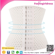 New arriving white women latex waist cincher for body slimming shapewear