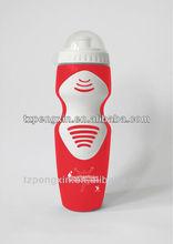 2015 venta caliente deporte botella de plástico con empuñadura