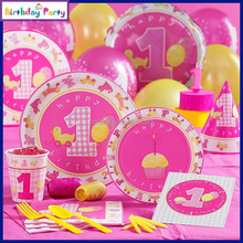 1st kids paper birthday party decorations wholesale