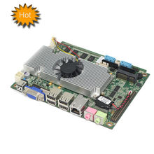 industrial 3.5 motherboard based Intel ATOM D525 onboard cpu support 6 COM RS232 pc mainboard for Monitoring System,HTPC,POS