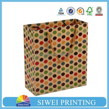 2015 Made In China Hot-Sale creative animal print gift bags paper